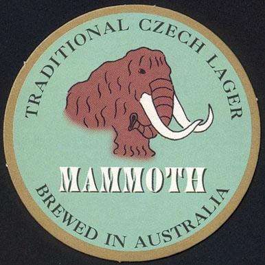 Mammoth beer