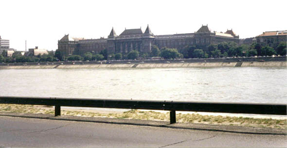The Donau at Budapest