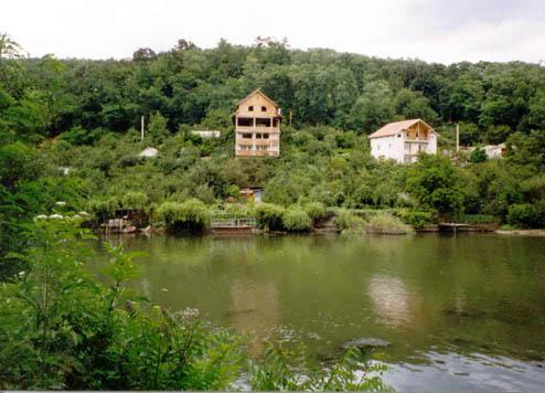 View across the Cerna River