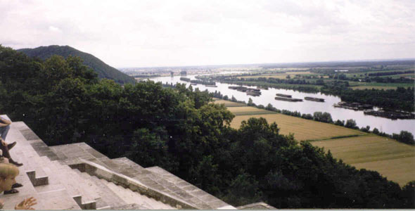 Walhalla on the Donau