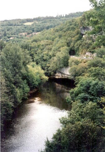 La Vezere by La Roque St Christophe