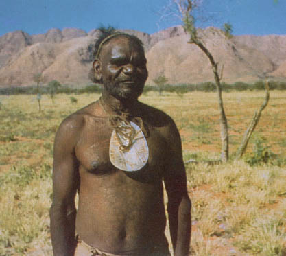 pearl shell aborigine