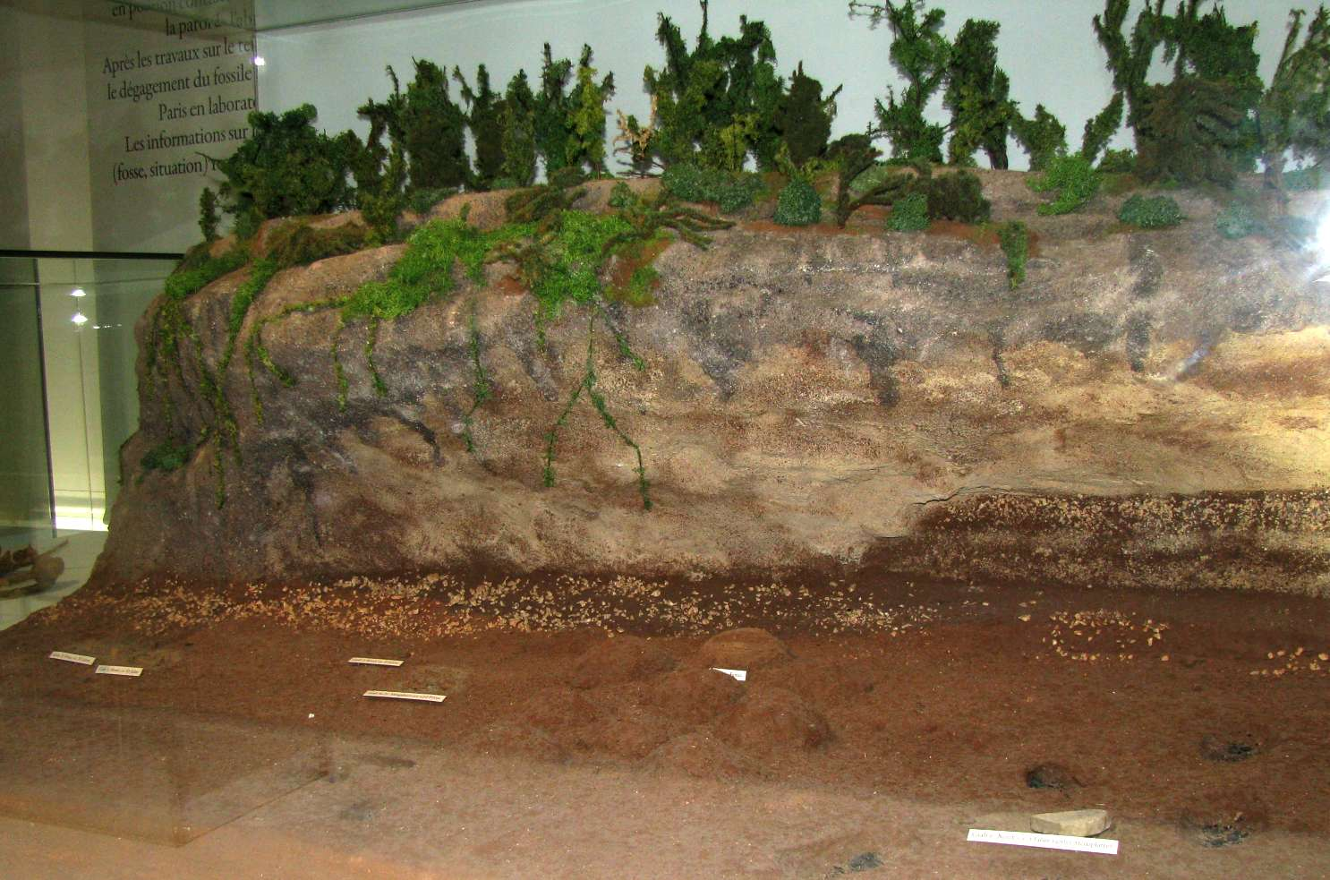 La Ferrassie Cave or Abri - a Neanderthal rock shelter