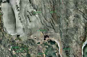 Five Mile Point satellite image
