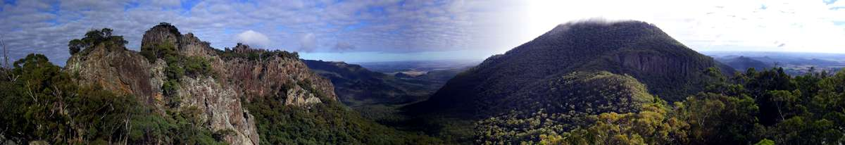 Mt Grattai pan