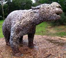 diprotodon sculpture