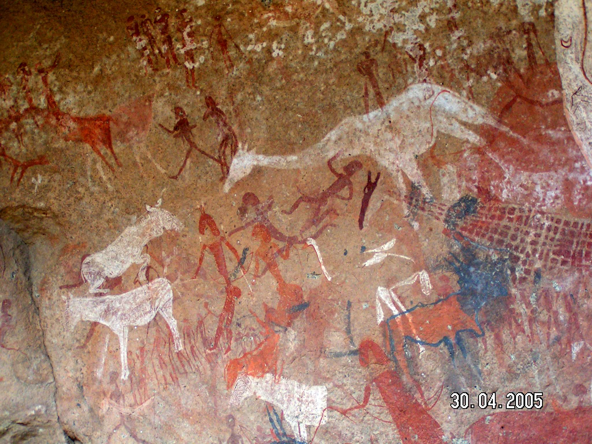 Namibia Rock Paintings From Namibia In Africa