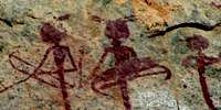 Namibia rock art