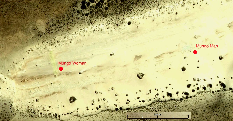 Carbon dating mungo man