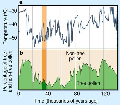 pollen record