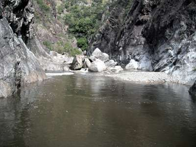 Chandler river