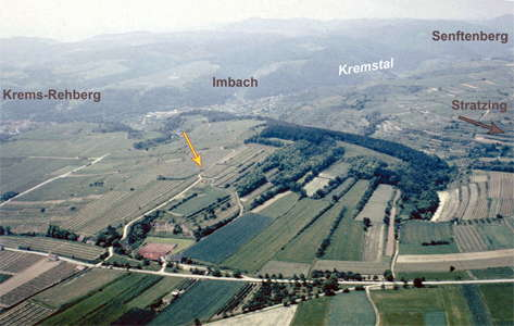 Galgenberg aerial photo