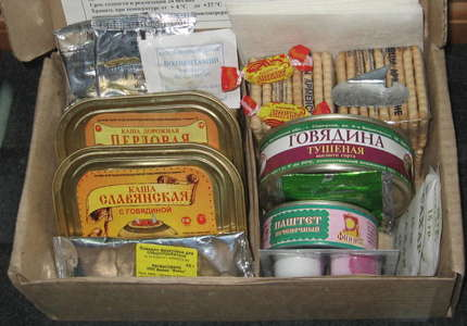 Russian Navy food ration