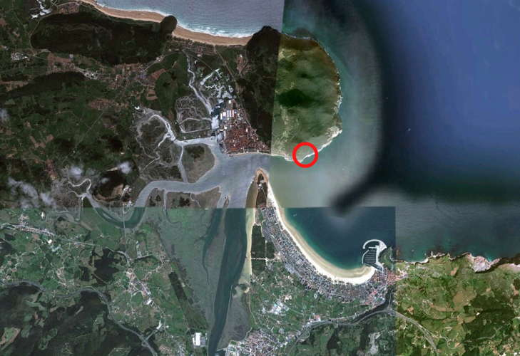 Santona Google Earth