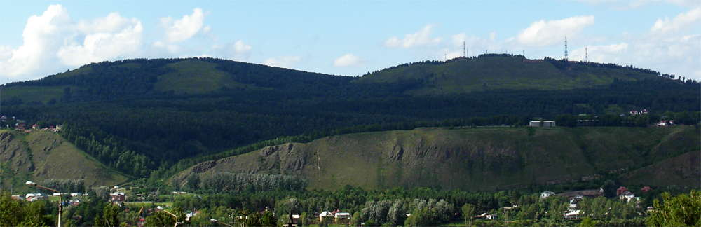 View of Afontova Gora
