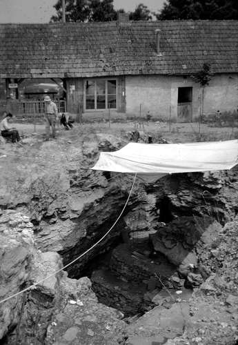 First excavation Le Regourdou