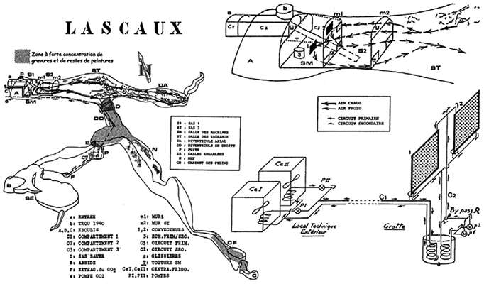 lascaux air conditioner 1965