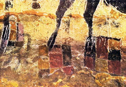 Lascaux coloured squares