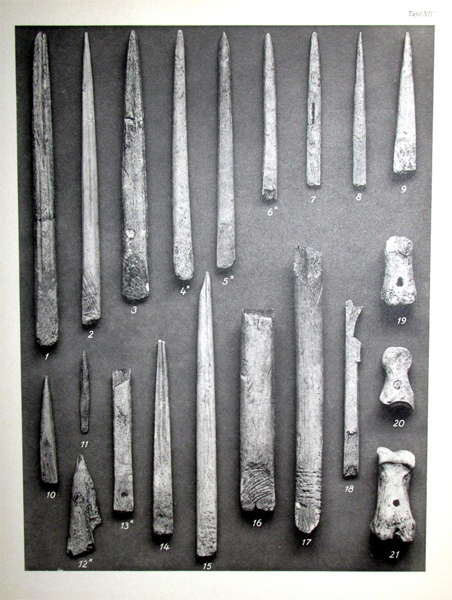 Petersfels bone tools