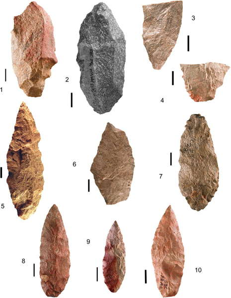 Blombos Cave silcrete tools