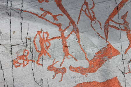 Norwegian rock art alta fjord