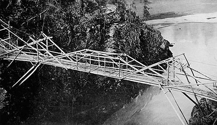 Bridge near Hazelton