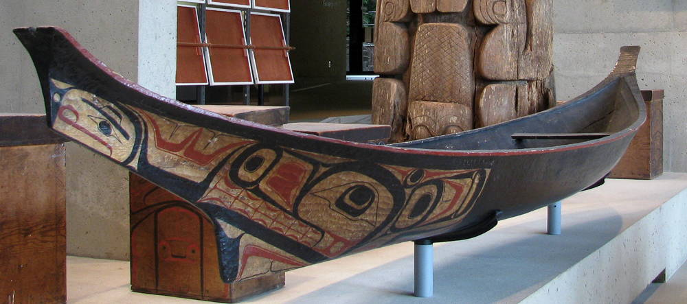 Canoes Of The First Nations Pacific Northwest
