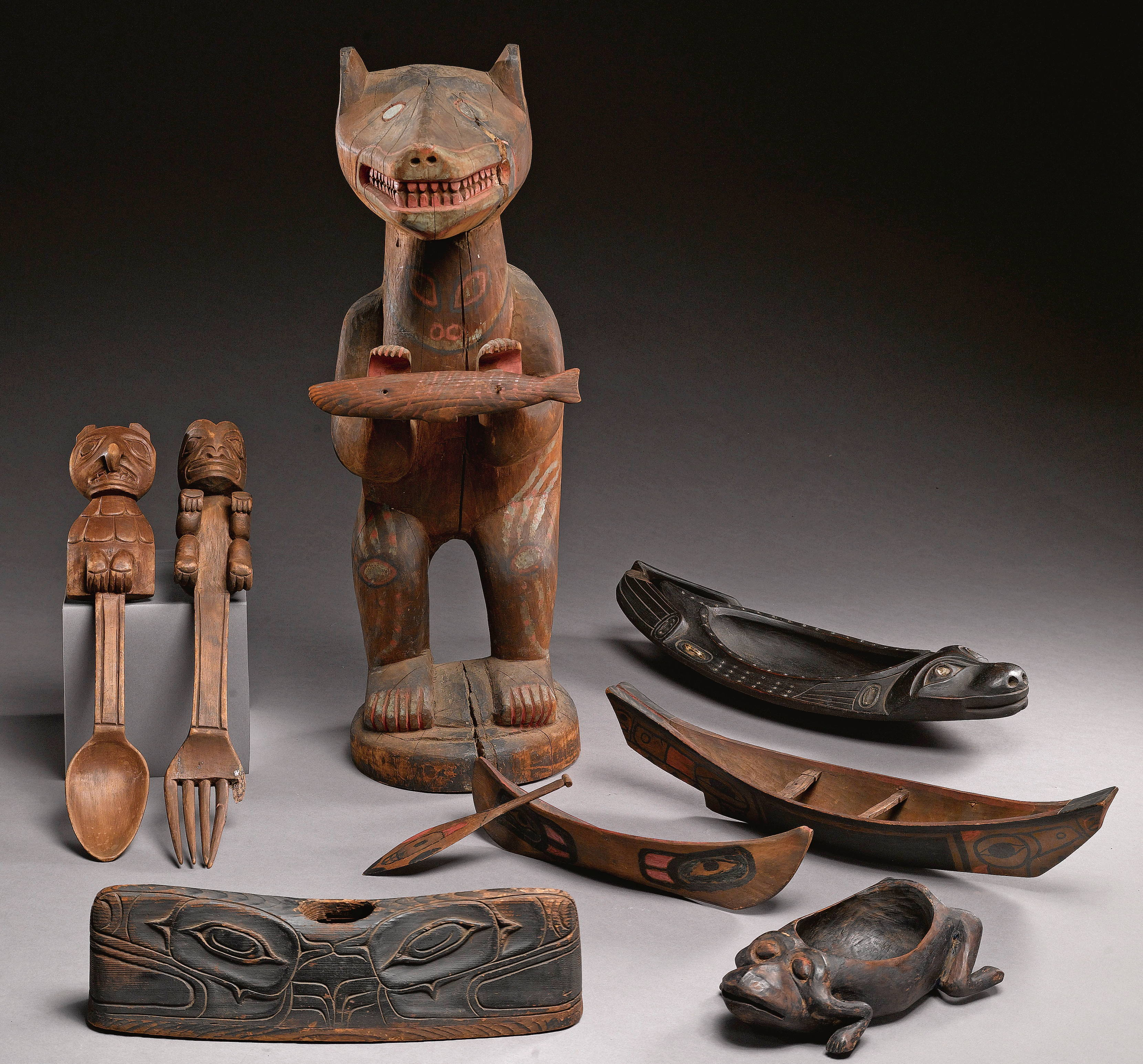 Artefacts of the First Nations of the Pacific Northwest