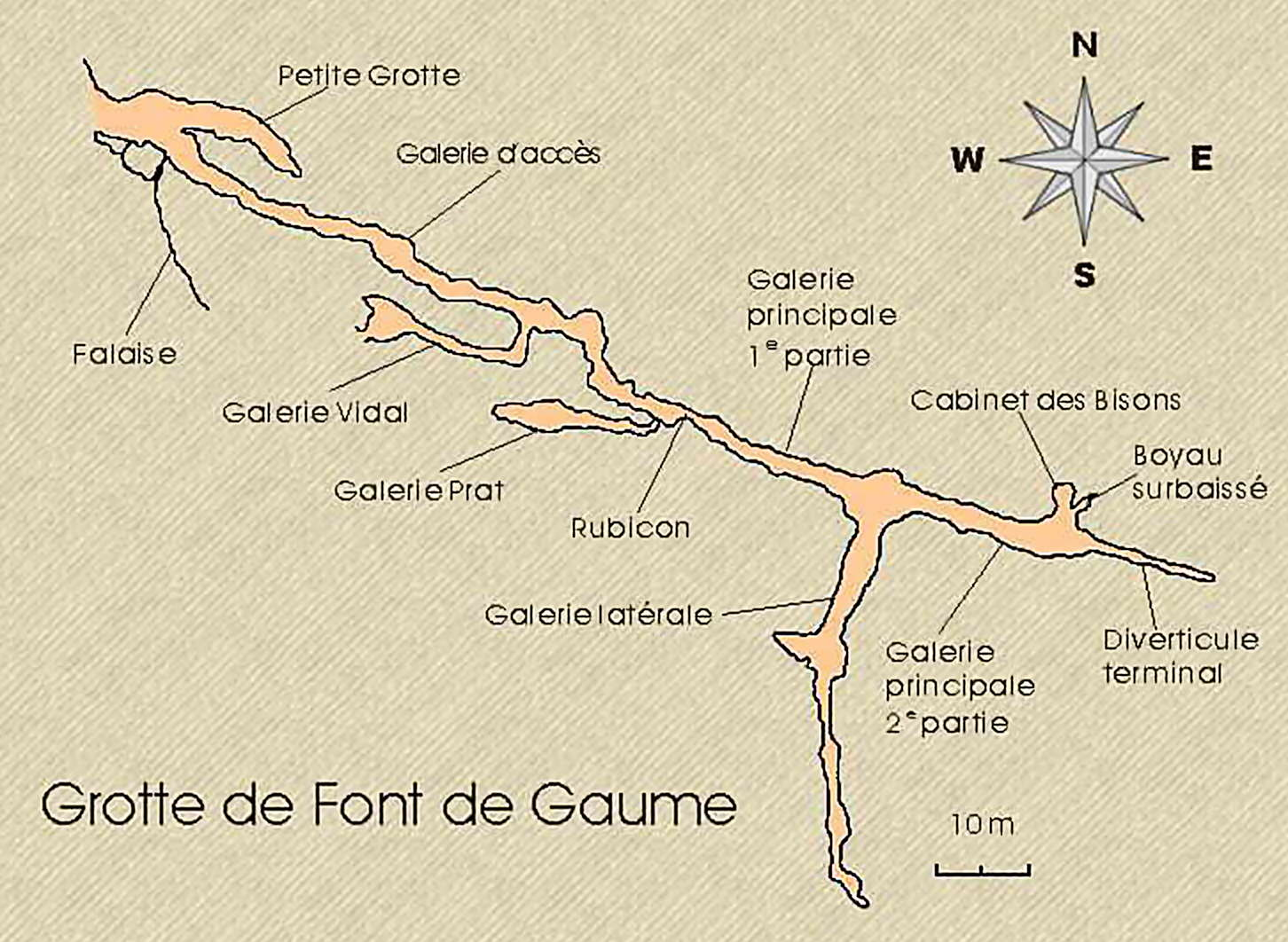Font De Gaume Cave Paintings From The Ice Ages