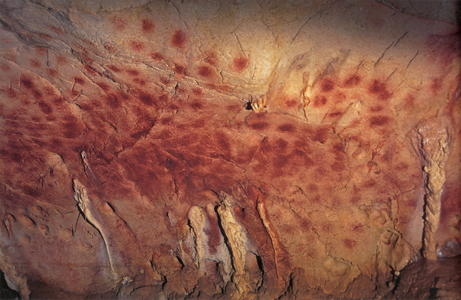 Chauvet Cave Red dots