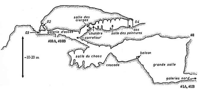 Villars Cave cross section coupe