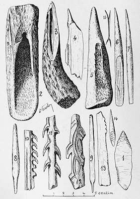 Laugerie Basse bone tools