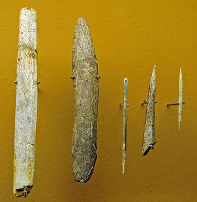 La Madeleine tools and artefacts