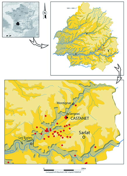Aurignacian of the Vezere and Dordogne valleys