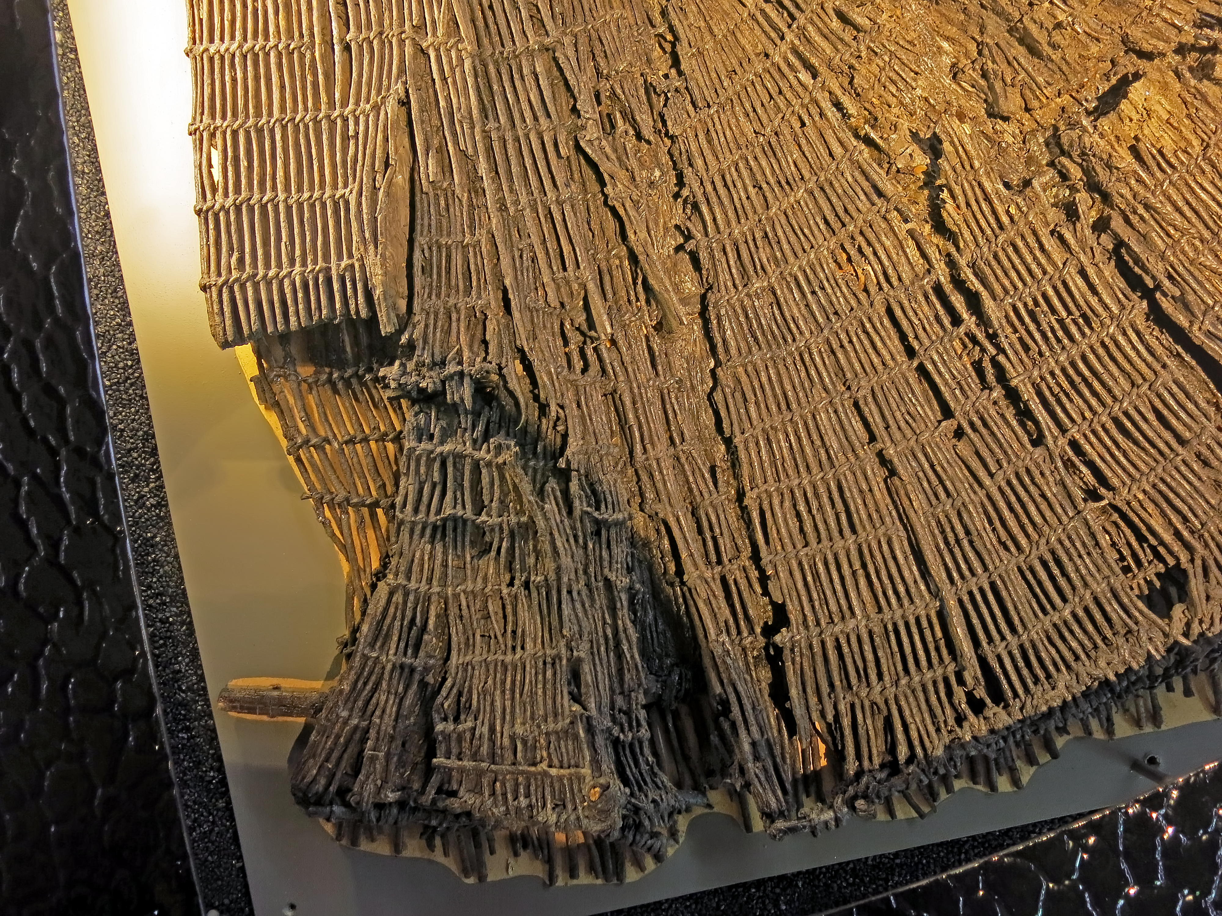 Nets and skis from ancient times for Fish trap net