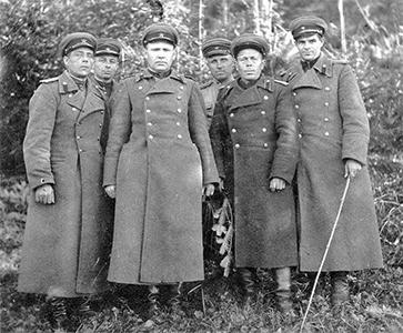 NKVD officers