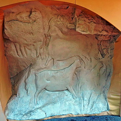 carved stone animal