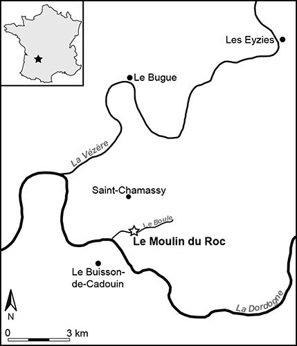 Moulin du Roc map