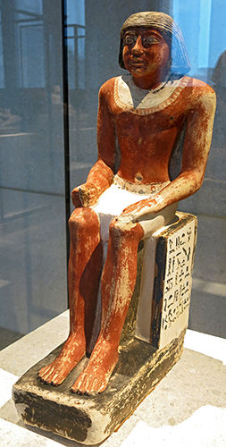 Seated figure of Hetepne