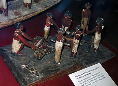Coffin of Gua butchering model