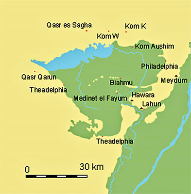 Ancient Egyptian Mummies Statues Burial Practices And Artefacts - Map of fayoum egypt