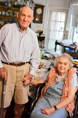 solecki and wife