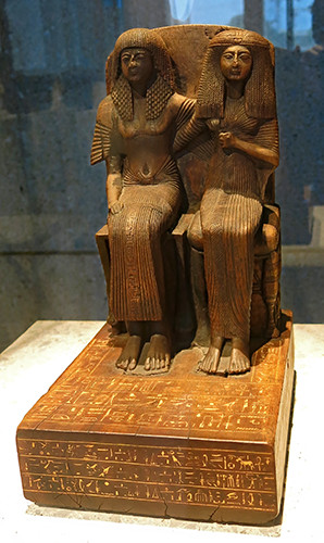 Nefer-Hor and his wife