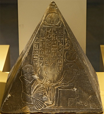 Pyramidion of Pauty