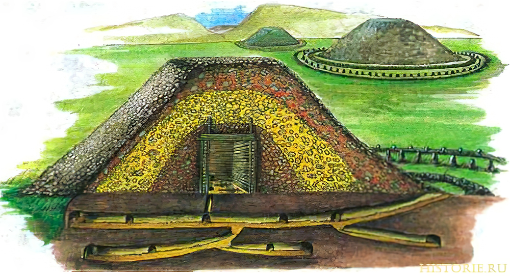 scythian burial mound