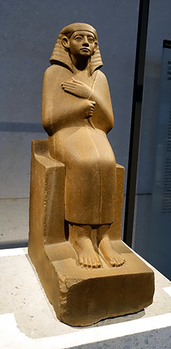 Chertihotep with a Hes-vase