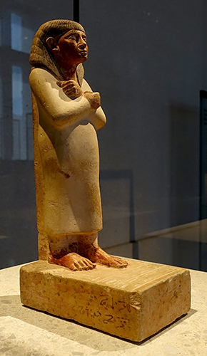 Standing - striding figure of Perhernefret