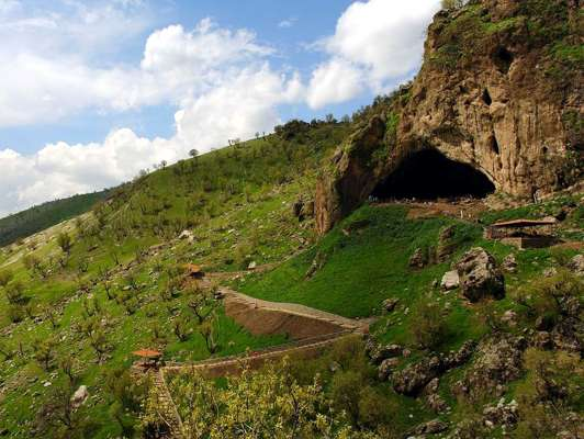 shanidar cave outside