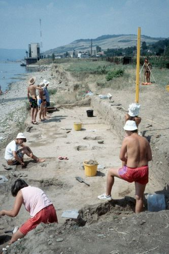 schela cladovei excavation